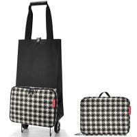 Сумка на колесиках Foldabletrolley fifties black, Reisenthel