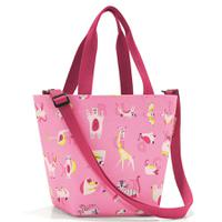 Сумка детская shopper xs abc friends pink, полиэстер, Reisenthel