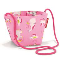 Сумка детская minibag abc friends pink, полиэстер, Reisenthel